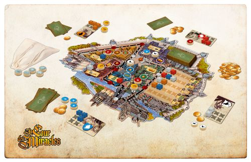 Board Game: The Court of Miracles