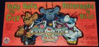 Board Game: Biker Mice from Mars: Take Back the City