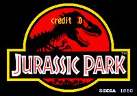 Video Game: Jurassic Park (Arcade)