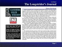 RPG Item: Lost Books 09: The Longstrider's Journal