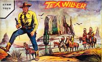 Board Game: Tex Willer