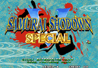 Video Game: Samurai Shodown V Special