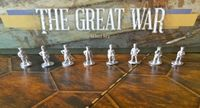 Board Game Accessory: The Great War: Metal General Figures