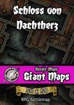 RPG Item: Heroic Maps Giant Maps: Schloss von Nachtherz