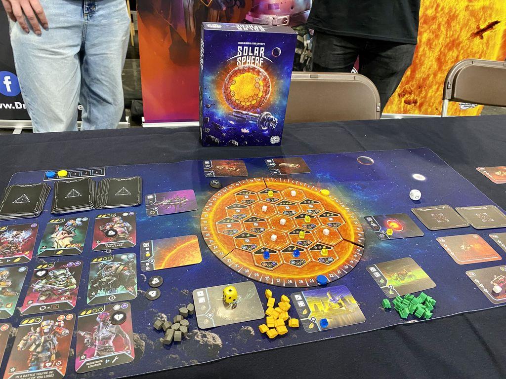 Board Game: Solar Sphere