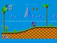 Video Game: Sonic the Hedgehog (1991 / 8-bit)