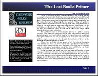 RPG Item: Lost Books Primer