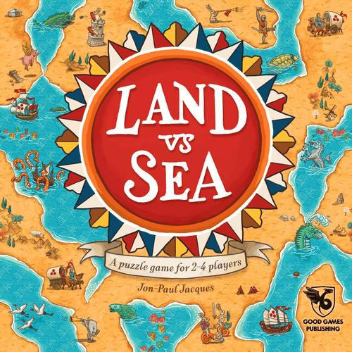 Land vs Sea box front