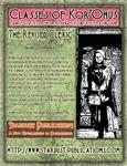 RPG Item: Classes of Kor'Onus: The Revised Cleric