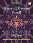 RPG Item: Races of Evernor Part II