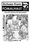 Issue: Echoes From Fomalhaut (Issue #01 - Mar 2018)
