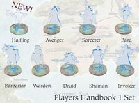 RPG Item: Invisibility Stand-Ins Player's Handbook 1 Set