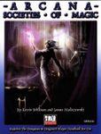 RPG Item: Arcana: Societies of Magic