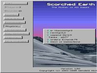 Video Game: Scorched Earth