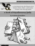 RPG Item: A Book of Miscellaneous Spells