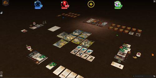 Game session on Tabletopia @ SPIEL.Digital