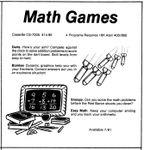 Video Game: Math Games