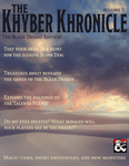 Issue: The Khyber Khronicle Volume 08