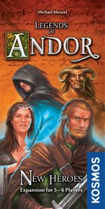 Legends of Andor: New Heroes Cover Artwork