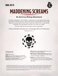 RPG Item: DDAL09-15: Maddening Screams