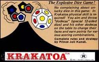 Board Game: Krakatoa