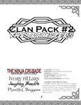 RPG Item: Clan Pack #2: The Tricksters