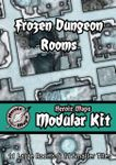 RPG Item: Heroic Maps Modular Kit: Frozen Dungeon Rooms