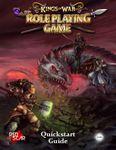 RPG Item: Kings of War the Roleplaying Game Quickstart Guide