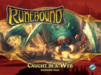 Board Game: Runebound (Third Edition): Caught in a Web – Scenario Pack