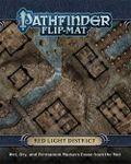 RPG Item: Pathfinder Flip-Mat: Red Light District