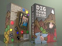Board Game: Dig Down Dwarf (Second Edition)