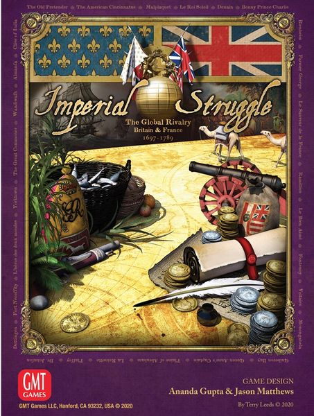 Cover Art for Imperial Struggle from the Website