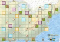 Board Game: Carcassonne Maps: USA East