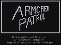 Video Game: Armored Patrol