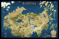 RPG Item: Eberron: Continent of Khorvaire Map