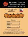 RPG Item: Halloween Horrors