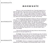 RPG Item: Mnemonic
