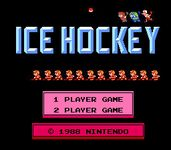 Video Game: Ice Hockey (NES)