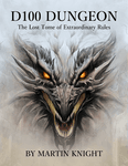 RPG Item: D100 Dungeon: The Lost Tome of Extraordinary Rules