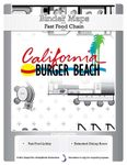 RPG Item: BinderMaps: Fast Food Chain - California Burger Beach