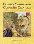 RPG Item: Cooper's Compendium of Corrected Creatures: OGL Monster Stats A – D (Aboleth – Dwarf)