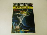 Board Game: Star Fleet Battles Expansion #1