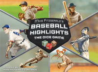 Board Game: Baseball Highlights: The Dice Game