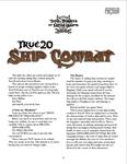 RPG Item: True20 Ship Combat