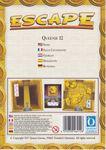 Board Game: Escape: The Curse of the Temple – Queenie 12: Slide