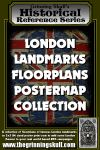 RPG Item: London Landmarks Floorplans Postermap Collection