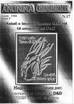 Issue: Anonima Gidierre (Numero 17 - Estate 1998)