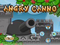 Video Game: Angry Cannon