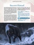 RPG Item: Hundred Devils Night Parade: Barrow Hound and Devil Stone