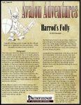 RPG Item: Avalon Adventures Vol 1 #06: Harrod's Folly